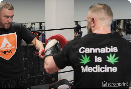 Dr. Mike Hart – Cannabis and Fitness – Strainprint